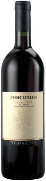 "Вино ""Torcicoda"" Primitivo, Salento IGT, 2010"