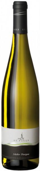 Вино St. Pauls, Muller Thurgau, Alto Adige DOC, 2014