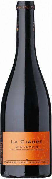 "Вино Domaine Anne Gros & Jean-Paul Tollot, ""La Ciaude"", Minervois AOC, 2009"