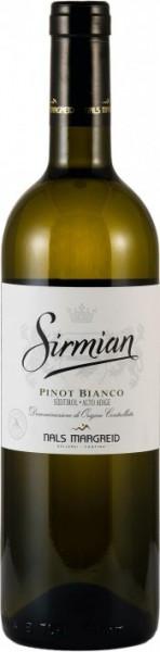 "Вино Nals-Margreid, ""Sirmian"" Pinot Bianco, Sudtirol Alto Adige DOC, 2011"