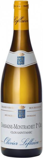 """Вино Chassagne-Montrachet 1er Cru AOC """"Clos Saint Marc"""", 2010"""