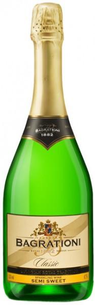 Игристое вино Bagrationi, Classic Semi-sweet