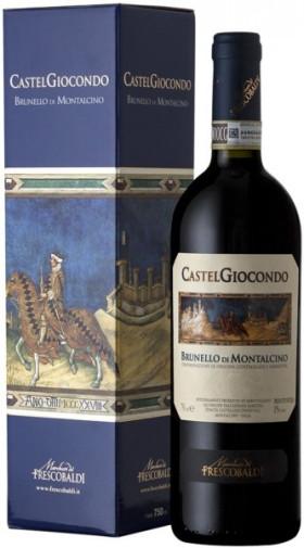 """Вино """"Castelgiocondo"""" Brunello di Montalcino DOCG, 2011, gift box"""