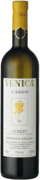 """Вино Venica & Venica, """"L'Adelchi"""" Ribolla Gialla, Collio DOC, 2008"""