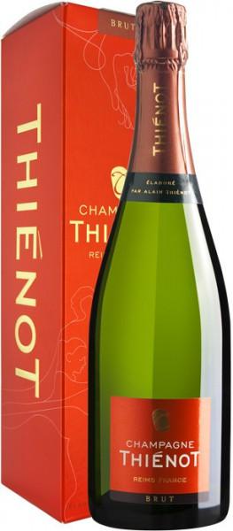 Игристое вино Champagne Thienot, Brut, Champagne AOC, gift box