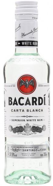 "Ром ""Bacardi"" Carta Blanca, 0.375 л"