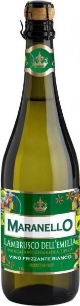"""Игристое вино Maranello Wines, """"Maranello"""" Lambrusco dell'Emilia IGT Bianco, semi-dolce"""