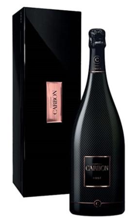Шампанское Gisele Devavry, Cuvee Carbon, Rose Brut, gift box, 1,5