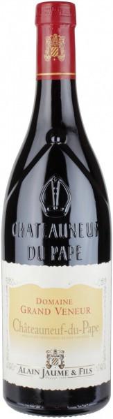 Вино Domaine Grand Veneur, Chateauneuf-du-Pape AOC Rouge, 2011