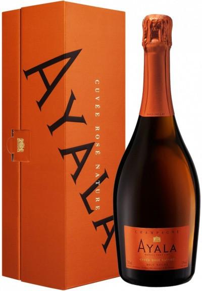 """Шампанское Ayala, """"Cuvee Rose Nature"""" Brut AOC, gift box"""