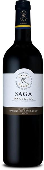 "Вино Domaine Barons de Rothschild, ""Saga"" Pauillac AOC"