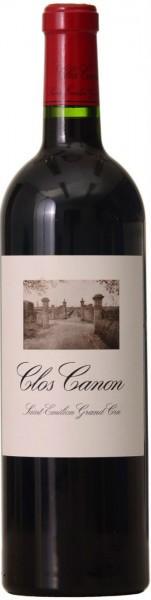 """Вино """"Clos Canon"""", Saint-Emilion Grand Cru AOC, 2010"""