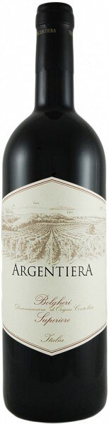 "Вино ""Argentiera"" Bolgheri Superiore DOC, 2011, 0.375 л"