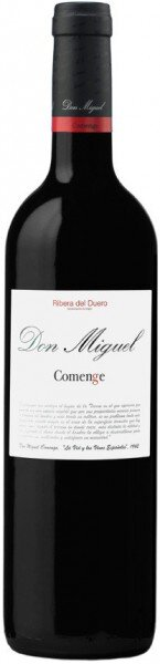 "Вино Bodegas Comenge, ""Don Miguel"" Comenge, 2009"