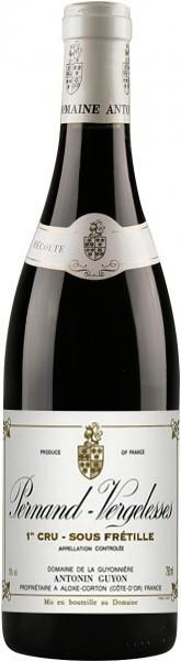 Вино Pernand-Vergelesses 1-er Cru Sous Fretille AOC 2007