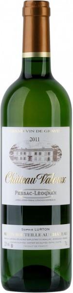 "Вино ""Chateau Valoux"" Blanc, Pessac-Leognan AOC, 2011"
