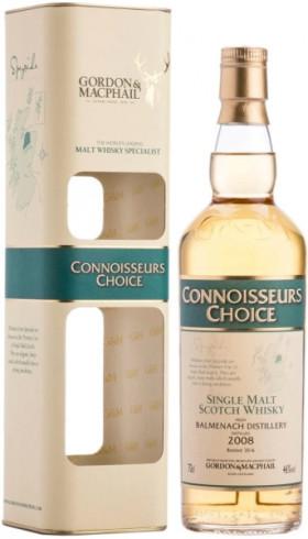 """Виски Balmenach """"Connoisseur's Choice"""", 2008, gift box, 0.7 л"""