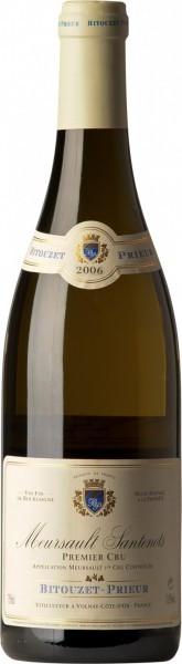 "Вино Domaine Bitouzet-Prieur, Meursault 1-er Cru ""Santenots"", 2006"