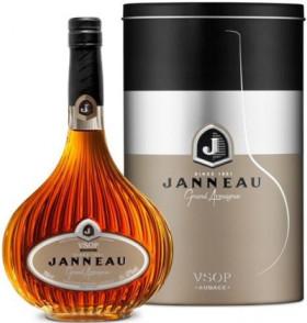 Арманьяк Armagnac Janneau VSOP in metal box, 0.7 л