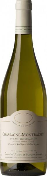 """Вино Domaine Vincent et Francois Jouard, Chassagne-Montrachet 1-er Cru """"Les Chaumees"""", 2015"""