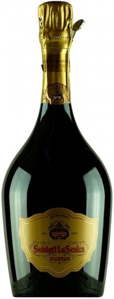 "Игристое вино ""Soldati La Scolca"" Brut Millesimato Riserva d'Antan DOCG, 2003"