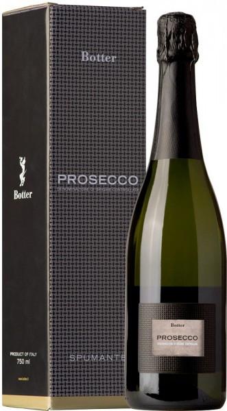 Игристое вино Botter, Prosecco Spumante, gift box