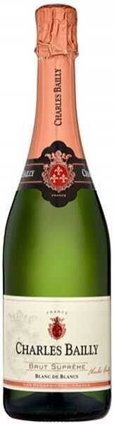 Игристое вино Charles Bailly, Brut Supreme Blanc de Blancs