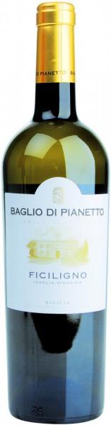 """Вино Baglio di Pianetto, """"Ficiligno"""" Viognier-Inzolia, Sicilia IGT, 2015"""