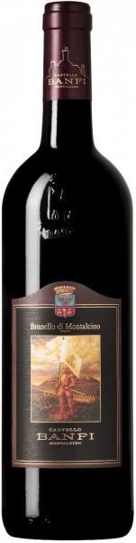 Вино Brunello di Montalcino DOCG, Banfi, 2013
