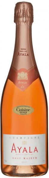 """Шампанское Ayala, """"Rose Majeur"""" Brut AOC"""