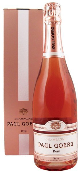 Шампанское Paul Goerg, Brut Rose Premier Cru, gift box, 1.5 л