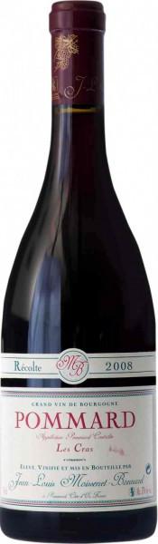 """Вино Moissenet-Bonnard, Pommard """"Les Cras"""" AOC, 2008"""