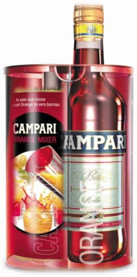 Аперитив Campari Bitter Aperitif, with jar mixer, 0.75 л