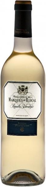 Вино Herederos del Marques de Riscal Rueda Verdejo 2009