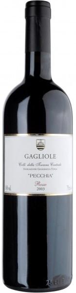 Вино Gagliole Pecchia, Colli della Toscana Centrale IGT, 2003