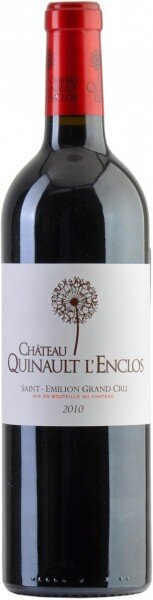 Вино Chateau Quinault L'Enclos, Saint-Emilion Grand Cru AOC, 2010