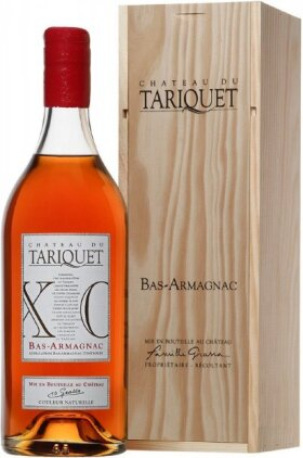 "Арманьяк ""Chateau du Tariquet"" XO, Bas-Armagnac AOC, wooden box, 2.5 л"