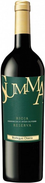 "Вино Bodegas Olarra, ""Summa"" Reserva, Rioja DOC, 2010"