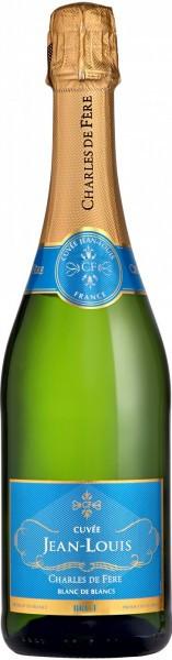 """Игристое вино Charles de Fere, """"Cuvee Jean-Louis"""" Blanc de Blancs Brut"""