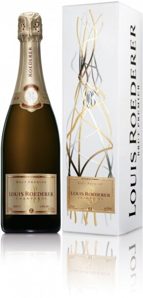 Шампанское Louis Roederer, Brut Premier AOC, grafika gift box, 1.5 л