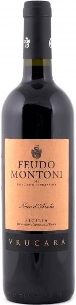 Вино Feudo Montoni, Vrucara Nero d'Avola, 2006