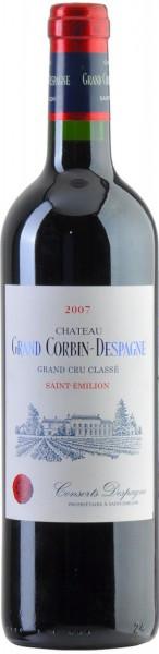 Вино Chateau Grand Corbin-Despagne, Saint-Emilion AOC, 2007