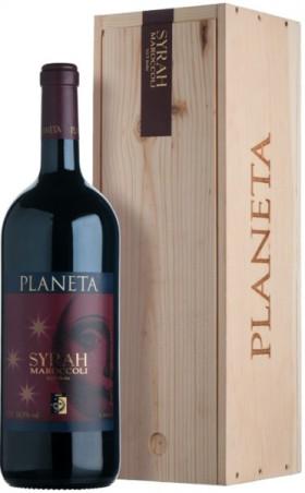 Вино Planeta, Syrah, Sicilia IGT, 2009, wooden box