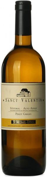 """Вино San Michele-Appiano, """"Sanct Valentin"""" Pinot Grigio, Alto Adige DOC, 2014"""