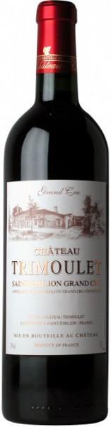 Вино Chateau Trimoulet, Saint-Emilion Grand Cru AOC, 2004