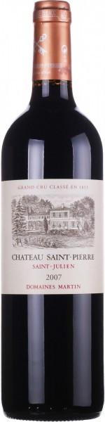 Вино Chateau Saint-Pierre, Saint-Julien AOC, 2007