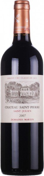 Вино Chateau Saint-Pierre, Saint-Julien AOC, 2007