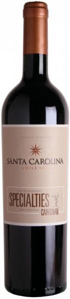 "Вино Santa Carolina, ""Specialties"" Carignan, 2010"