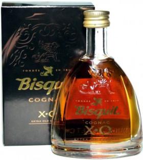 Коньяк Bisquit XO, with box, 50 мл