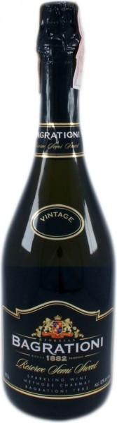 Игристое вино Bagrationi, Reserve Semi-Sweet